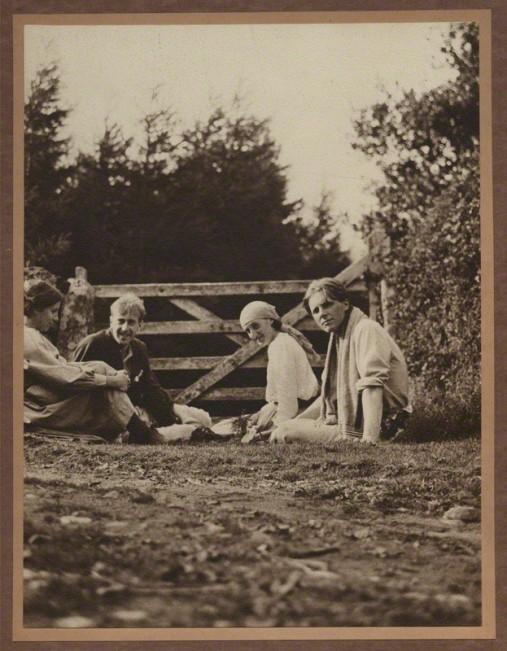 NPG x13124; Noel Olivier; Maitland Radford; Virginia Woolf (nÈe Stephen); Rupert Brooke by Unknown photographer