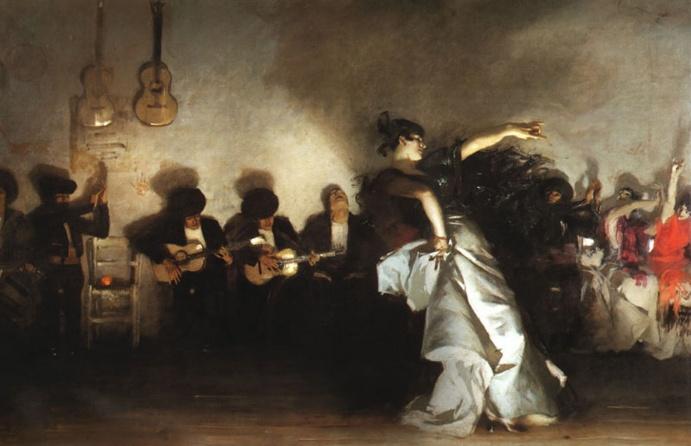 Sargent: El Jaleo Singer