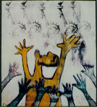 Lawrence Ferlinghetti Painter