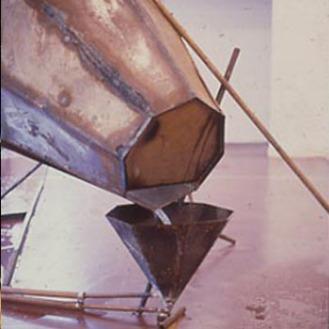 Richard Wilson: Hopper head