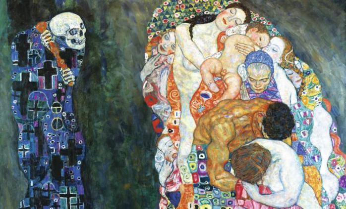 Klimt Life and Death