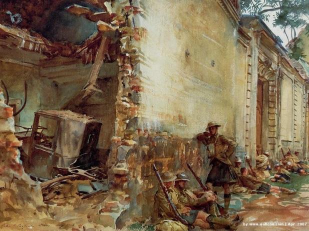 Sargent: Street in Arras